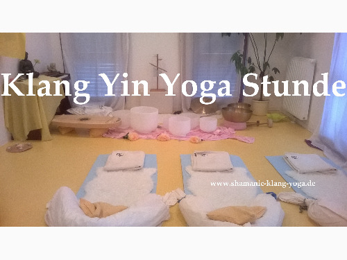 Klang Yin Yoga Stunde - auf Triviar
