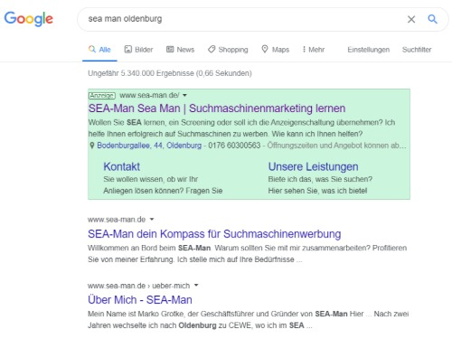 Search Engine Advertising (SEA) für Beginner - auf Triviar