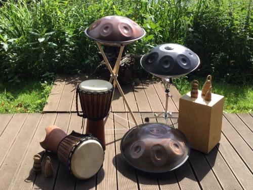 Workshop - Handpan und Percussion A - auf Triviar
