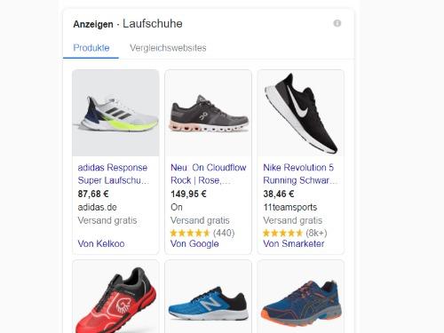 Google Shopping - Grundlagen - auf Triviar