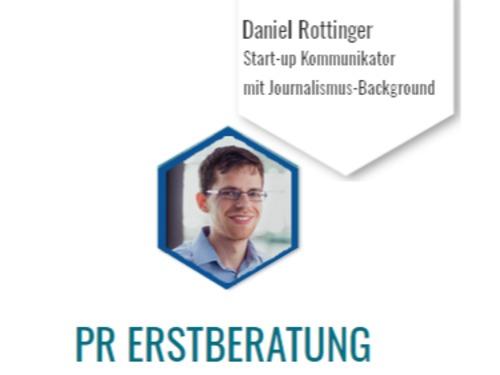 PR-Erstberatung für Start-ups mit Daniel - auf Triviar