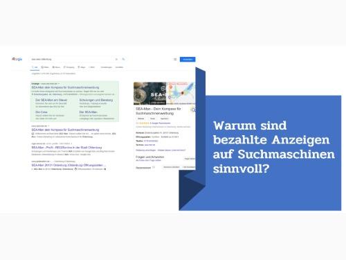 Warum sind bezahlte Anzeigen auf Suchmaschinen sinnvoll? - auf Triviar