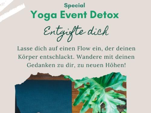 Detox Yoga Special- entschlackend und entgiftend - auf Triviar