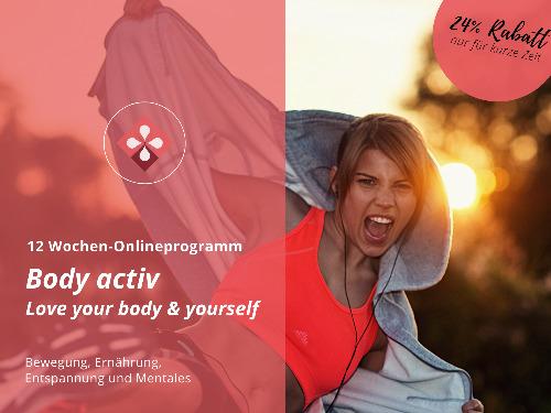 """Einzelcoaching: 12 Wochen-Onlineprogramm """"Body active"""" - auf Triviar"""