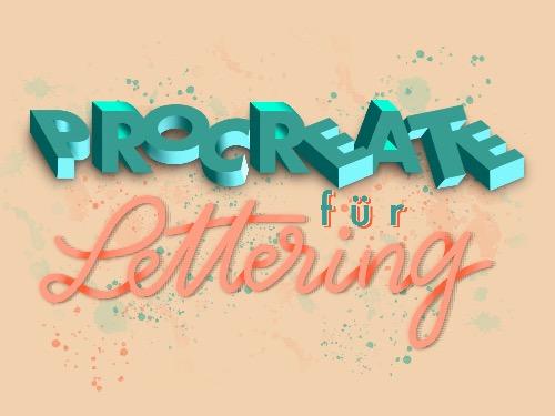 Procreate für Lettering - 2 Teile/je 2 Stunden - auf Triviar