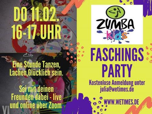 Zumba Kids Kinder-Faschings-Party - auf Triviar
