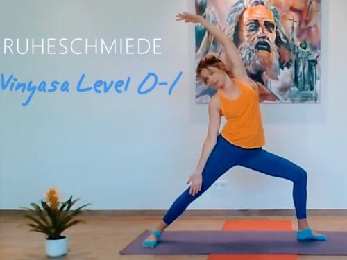 Vinyasa Yoga Level 0-1 (keine Vorkenntnisse erforderlich) - auf Triviar