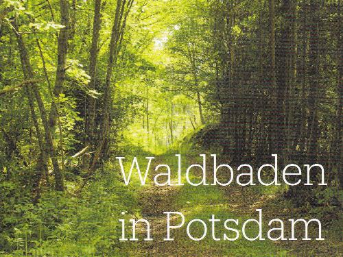 Waldbaden in Potsdam - auf Triviar