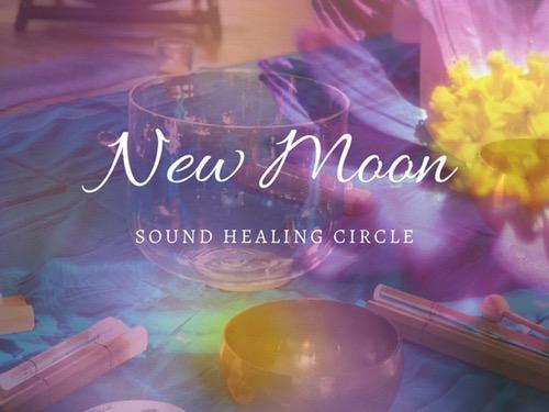 NEW MOON SOUND HEALING CIRCLE - auf Triviar