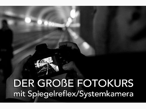 ONLINE: Der große Fotokurs mit Spiegelreflex / 2 Tage - auf Triviar