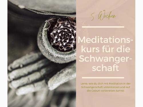 Meditationskurs in der Schwangerschaft - auf Triviar