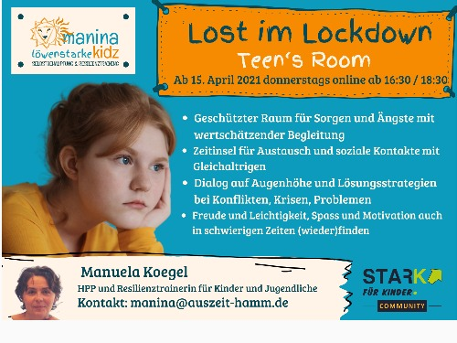 Lost im Lockdown - Teen´s Room - Einzelticket - auf Triviar