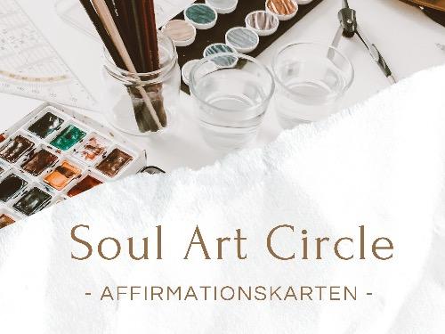 Soul Art Circle: Affirmationskarten mit Lettering & Aquarell - auf Triviar