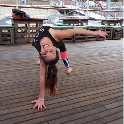 Pop Up Yoga Bremen - auf Triviar